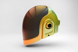 Копию шлема Daft Punk напечатали на 3D-принтере