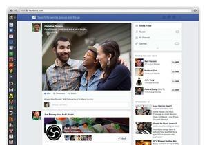 Facebook представит новый вид ленты новостей