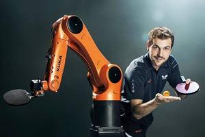 Опубликовано видео теннисного матча между роботом и человеком