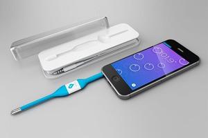 Гаджет Kinsa научил iPhone измерять температуру