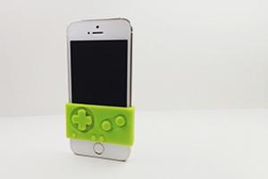 Силиконовый контроллер превратит iPhone в GameBoy