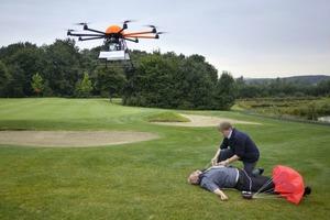 Квадрокоптеры предлагают поставить на службу скорой помощи