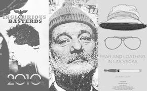 Итоги года: постеры и иллюстрации к кино и сериалам