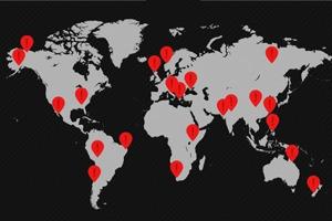 Представлена карта самых опасных дорог мира