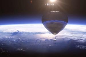 Космический туризм на воздушных шарах появится в 2016 году