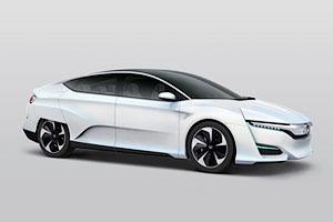 Honda показала новый концепт-кар на водородном двигателе