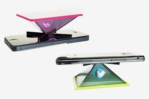 На Kickstarter собирают деньги на голографический проектор для смартфонов
