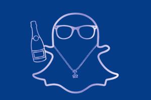 Что выкладывают в Snapchat богатые школьники