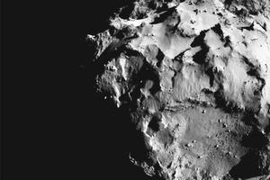 Из фотографий посадки Philae на комету сделали видео