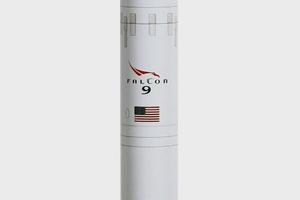 Space X показала полную запись посадки Falcon 9 на платформу