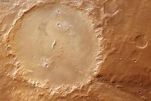 NASA показало, как выглядел Марс четыре миллиарда лет назад