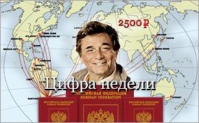 Цифра недели: 2500 за загранпаспорт