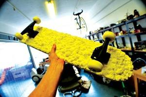 Датчанин распечатал скейтборд на 3D-принтере