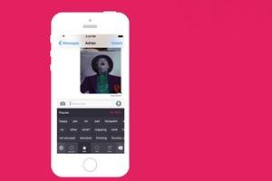 Анонсирована «первая GIF-клавиатура» для iOS 8
