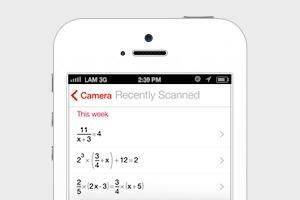 Сервис PhotoMath решает примеры с помощью камеры