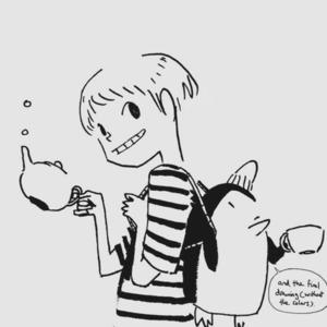 «Работа над комиксом  не сильно отличается  от работы в ресторане»