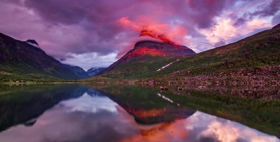 Видео: таймлапс с пейзажами со всей Норвегии в 4K
