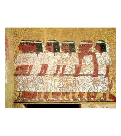 Рельеф в гробнице фараона Тутанхамона. Изображение № 8.