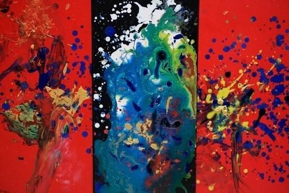 Изображение 3. Четырехлетняя художница получила мировое признание.. Изображение № 2.