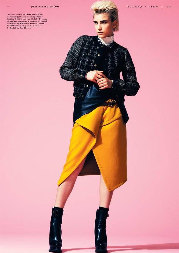 Съёмка: Яна Кнауэрова для Playing Fashion. Изображение № 2.