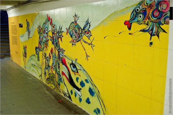 Стрит-арт и граффити Риги. Изображение № 10.