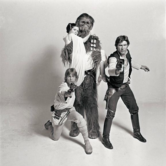 Редкие фотографии сосъемок «Звездных войн». Изображение № 5.