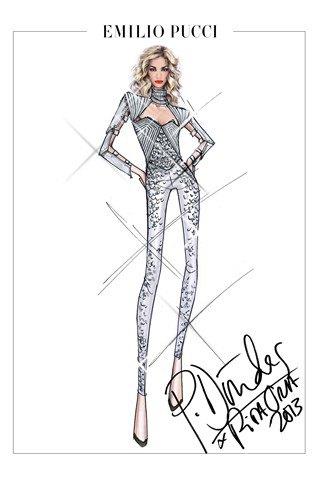 Emilio Pucci создали костюмы для тура Риты Оры. Изображение № 2.