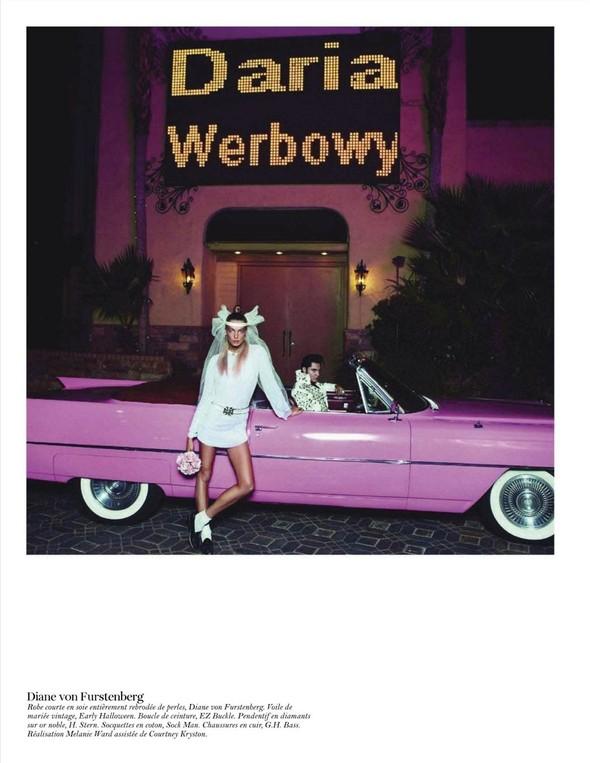Съёмка: Дарья Вербова для французского Vogue. Изображение № 17.