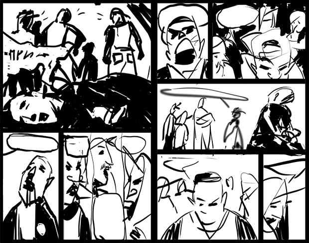 Улицы разбитых фонарей: как я рисую комикс о копах. Изображение № 3.