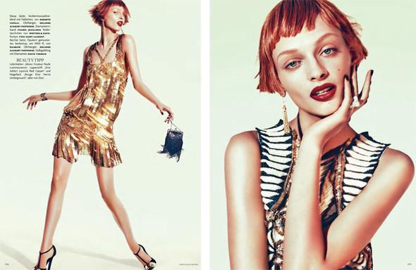 Съёмка: Дага Зёбер для Vogue. Изображение № 6.