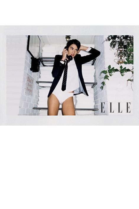 Изображение 9. Джеймс Франко снял Агнесс Дейн для Elle.. Изображение № 9.