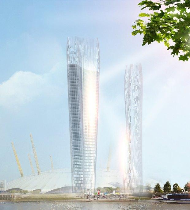 Архитекторы придумали небоскрёб с минимальной тенью. Изображение № 1.