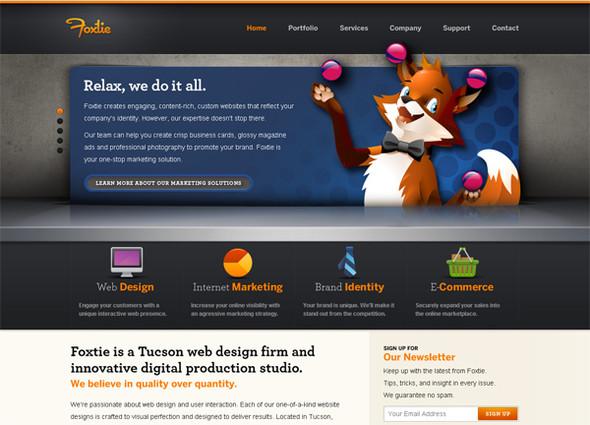 Персонажи в дизайне сайтов. Изображение № 12.
