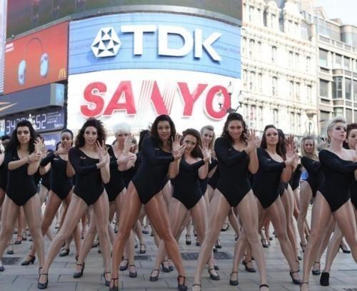 Двойники Beyonce вцентре Лондона. Изображение № 2.