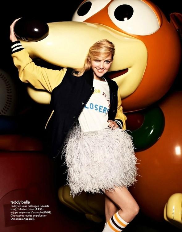 Съёмка: Хезер Маркс для Elle. Изображение № 5.
