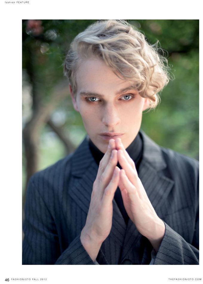 Вышли новые мужские съемки из Citizen K, Fashionisto, Vogue и других журналов. Изображение № 25.
