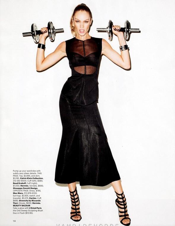 Съёмка: Терри Ричардсон для Harper's Bazaar. Изображение № 5.