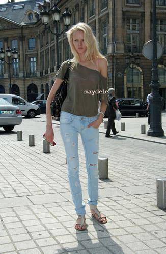 Нерабочее время: Блоги об уличном стиле моделей. Изображение № 26.