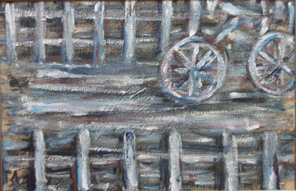Выставка произведений московского художника Гали Луцкой «Проволока». Изображение № 2.