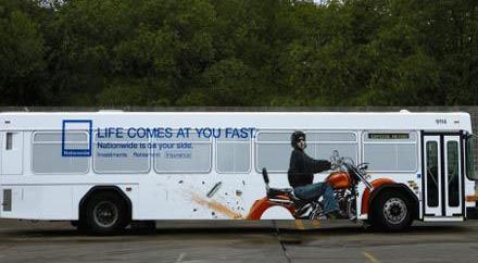 Необычная автобусная реклама. Изображение № 20.