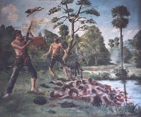Кхмерский художник Vann Nath. Изображение № 22.
