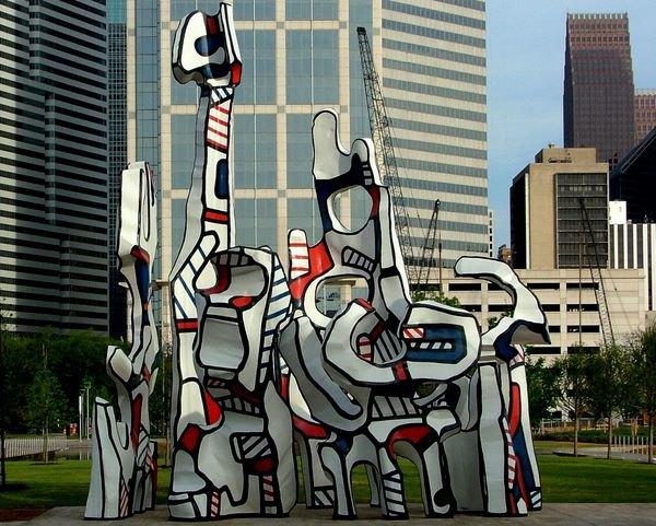 """Жан Дюбюффе """"Monument Au Fantome"""" (1977). Изображение № 42."""