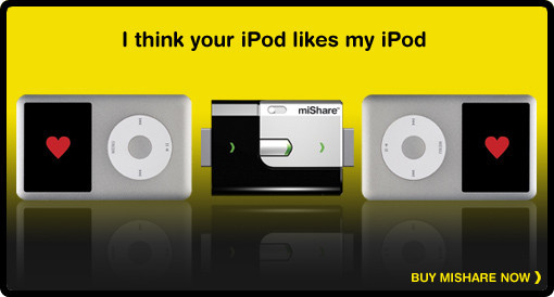 MiShare. Ithink your iPod likes myiPod. Изображение № 1.