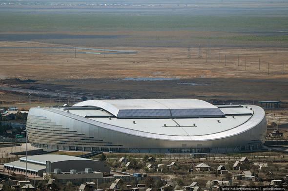Изображение 2. Астана с высоты птичьего полета.. Изображение № 2.