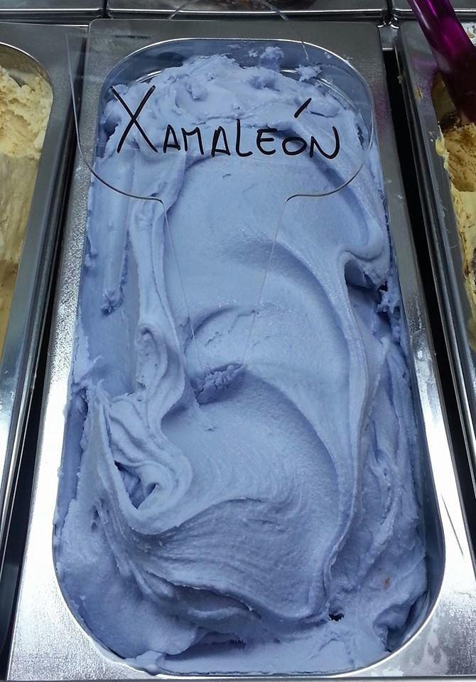Испанец изобрёл меняющее цвет мороженое . Изображение № 1.