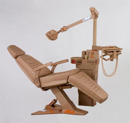 Chris Gilmour картонный скульптор. Изображение № 7.