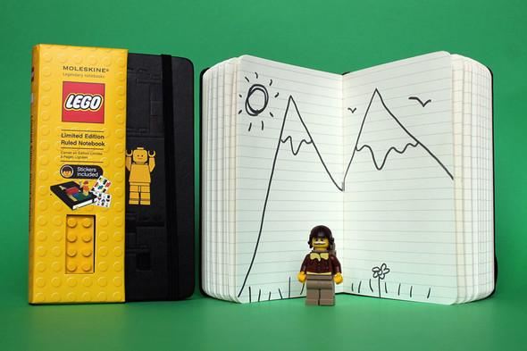 LEGO x Moleskine Notebooks Collection. Изображение № 3.