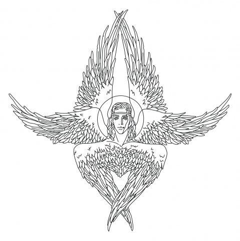 Знаки исимволы: НИКИТИН икровь ШЕСТИКРЫЛОГО СЕРАФИМА. Изображение № 23.