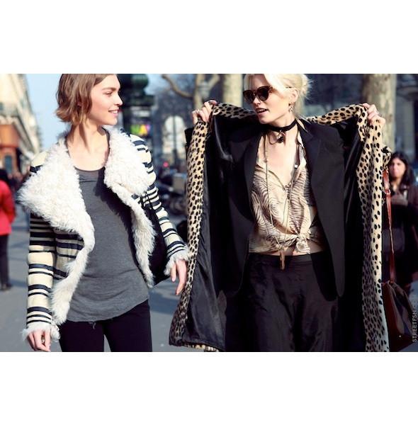 Изображение 98. На полях: 10 тенденций уличного стиля с прошедших недель моды.. Изображение № 98.