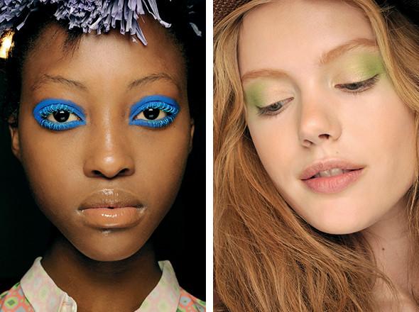 Изображение 11. Красная стрела: тенденции макияжа SS 2011.. Изображение № 10.